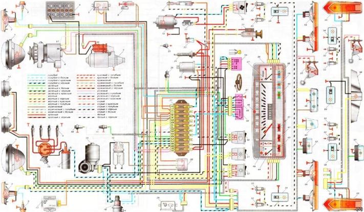 Схема соединений узлов